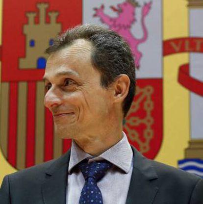 Caretaker Science Minister Pedro Duque.