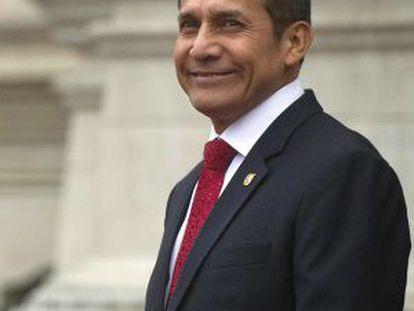 Peruvian President Ollanta Humala.