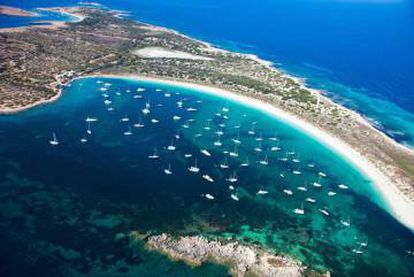 Greenpeace wants greater protection for the interior of the Balearic Island of Formentera.