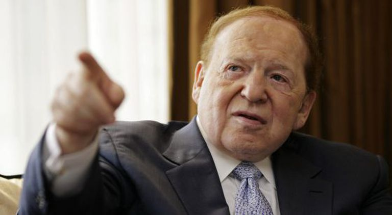 Las Vegas Sands Chief Executive Officer Sheldon Adelson.
