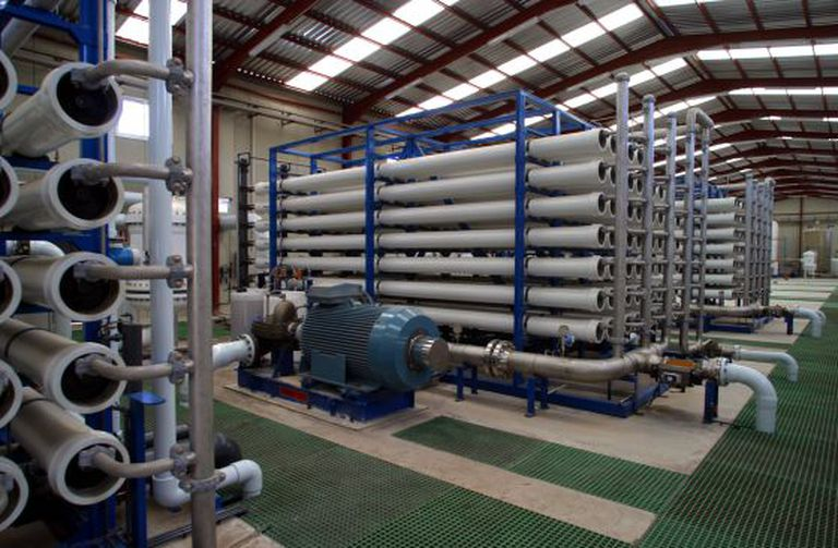 The Carboneras desalination plant in Almería province.