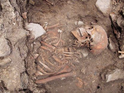 'Individual 57,' one of the 120 corpses that have been located.