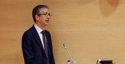 Bank of Spain governor Pablo Hernández de Cos.