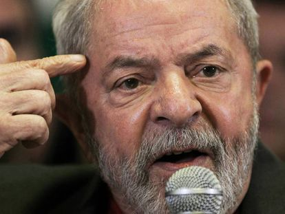 Lula da Silva at a press conference on September 15.