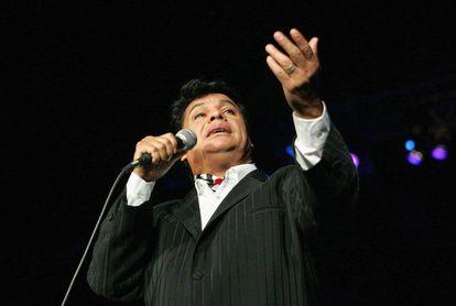 Juan Gabriel in Miami in October 2004.