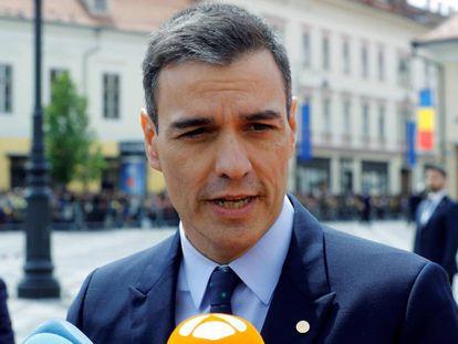 Acting PM Pedro Sánchez.