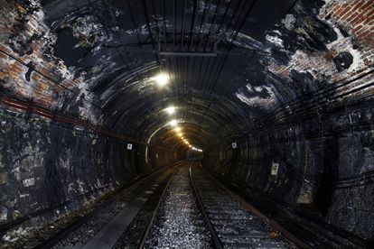 The current state of the Line 1 tunnel.