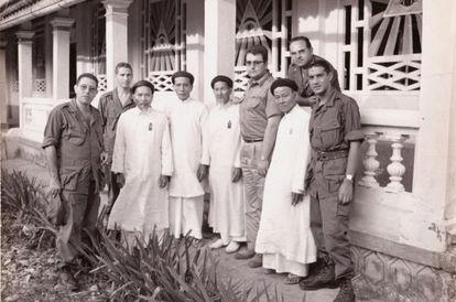 A still image from the documentary 'Españoles en la guerra de Vietnam'.