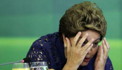 Rousseff during a breakfast in December in Brasilia.