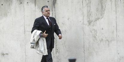 Former PP treasurer Luis Bárcenas.