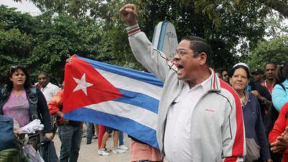 Activists arrested on Human Rights Day in Cuba.