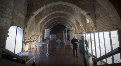 The section of the Santa María de Sijena Monastery open to the public.