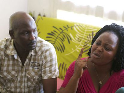 Adou's parents in an interview with Efe news agency.