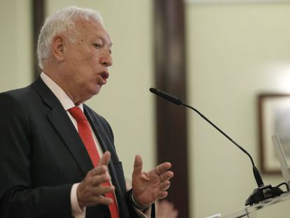 Foreign Minister José Manuel García-Margallo in Madrid on Tuesday.