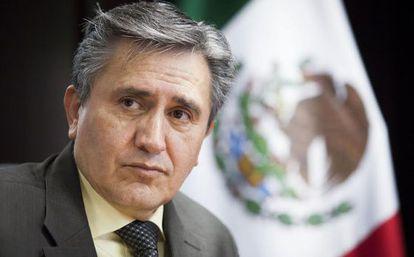 Luis Raúl González Pérez, new president of Mexico's National Human Rights Commission.