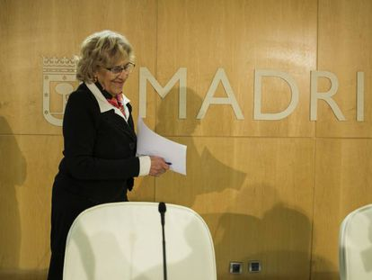 Madrid Mayor Manuela Carmena.