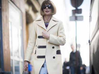 Anna Wintour, editor-in-chief of the US edition of Vogue magazine.