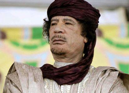 Muammar Gaddafi in October 2009.