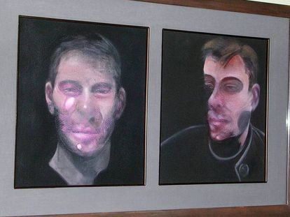 Two of the Francis Bacon paintings stolen in Madrid