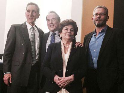 The four plaintiffs who brought the marijuana suit before the Supreme Court.