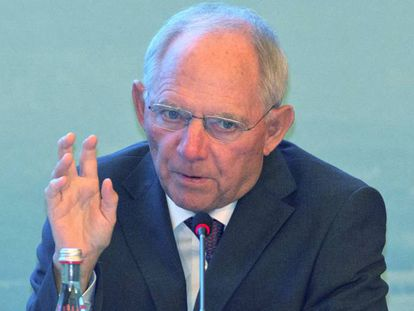 German finance minister Wolfgang Schaüble was instrumental in letting Spain off the hook.