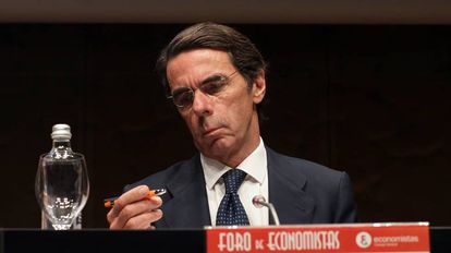 Former Spanish PM José María Aznar.