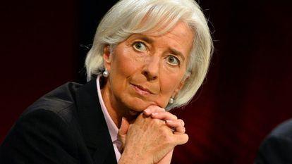 IMF managing director Christine Lagarde.