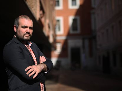 The astronomer Guillem Anglada-Escudé in Madrid last October.