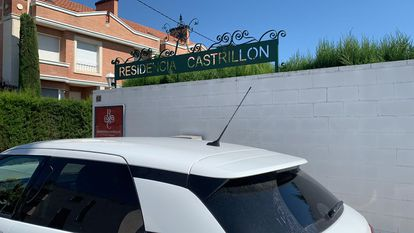 Senior home Castillón in Lleida, which began detecting coronavirus cases on June 14.