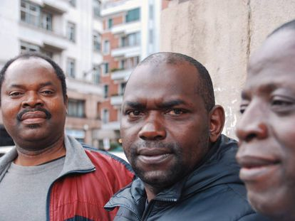 Men who participated in a Bilbao program against FGM.