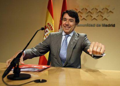 Former Madrid premier Ignacio González in a file photo.