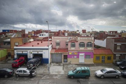 La Atunara district in La Línea de la Concepción.