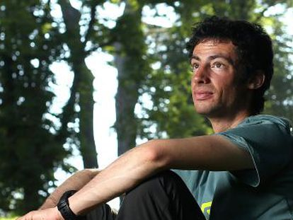 """""""You have to let your craziness out to feel something."""" Kilian Jornet talks to EL PAÍS about a life lived in the mountains"""