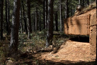 A renovated bunker in the woodlands around Somosierra, north of Madrid.