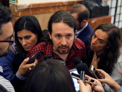 Podemos leader Pablo Iglesias.