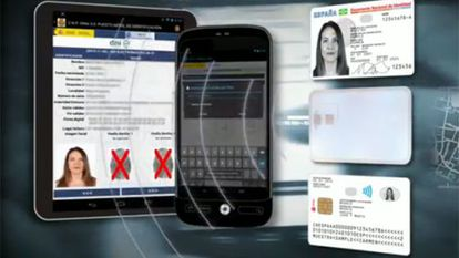 The Spanish government's campaign to introduce a new ID document, DNI 3.0.