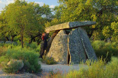 A dolmen in Valencia de Alcántara (Cáceres).