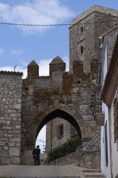 The historic center of Trujillo, Cáceres.