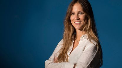 Ana Rodes, an industrial engineer, has developed a way to integrate solar cells into flexible materials such as awnings or parasols.
