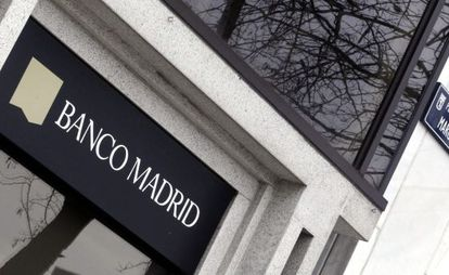 Banco de Madrid will not be bailed out by Spanish authorities like other lenders.