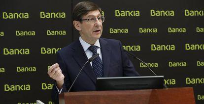 José Ignacio Goirigolzarri, president of Bankia, is expected to head the new group created by the merger with CaixaBank.