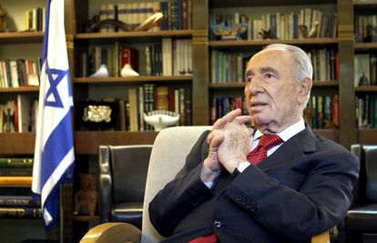 Israeli President Shimon Peres.