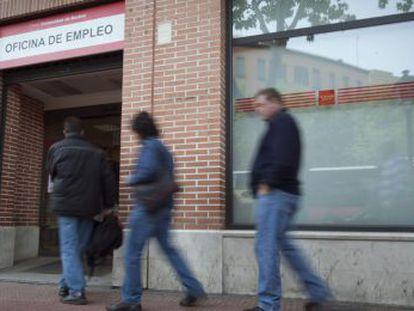 An employment office in Alcalá de Henares (Madrid).