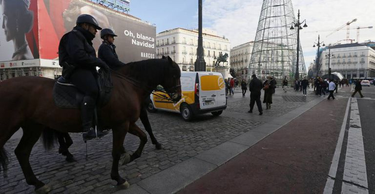 There has been an increased police presence in the capital since the Berlin attack.