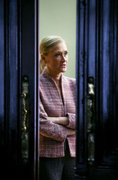 Cristina Cifuentes, pictured last week in Madrid.