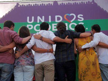 Unidos Podemos rally in Jerez de la Frontera.