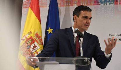 Spanish Prime Minister Pedro Sánchez in Cuba this week.