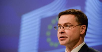 ValdisDombrovskis, the European Commission' executive vice-president for an Economy that works for People.