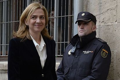 Infanta Cristina arrives to testify at the Palma courts on Febuary 8 of this year.