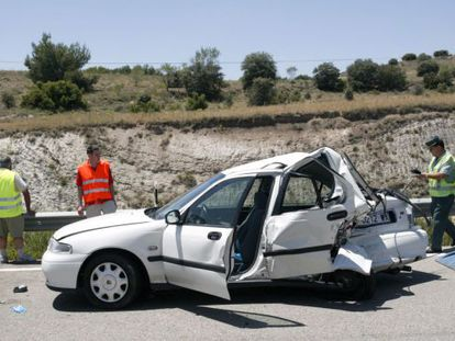 Head of the Traffic Department María Seguí praised the general public for their diligence in reducing the number of fatal crashes.